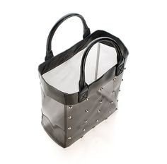 Studded Work Tote - it's CLEAR!!!