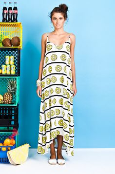 Coconuts, Pineapple, High Low, Summer Dresses, Mom, Collection, Fashion, Summer Sundresses, Moda