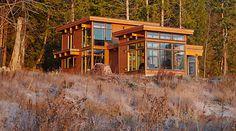 LOVE all the windows Lindal Cedar Homes - Custom Home Plans, Custom Cedar Homes, Log Homes and Sunrooms
