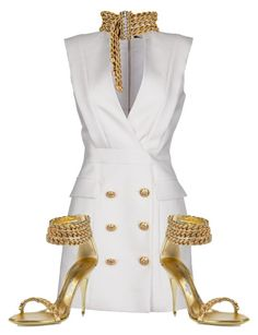 """""""Untitled #3112"""" by xirix ❤ liked on Polyvore featuring Balmain"""