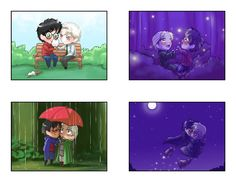 CHIBIS! <3 Drarry Cuteness by Red_Rahl