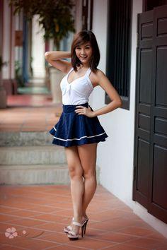 Heels In Asian Girls