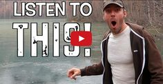 Rock Skipping on Frozen Lake!!! This Guy's Reaction Is HYSTERICAL… LOL! | The Raw Food World