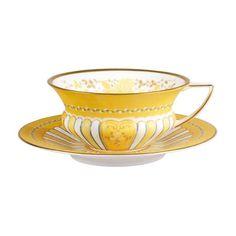 Teacups & Saucers Band Kopp & Fat 0,18 l, Gul, Wedgwood