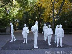 George Segal using multiples Line Sculpture, Modern Art Sculpture, George Segal, Art Fund, Public Art, Plaster, Art History, Pop Art, Street Art