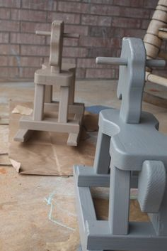 Getting Some Fun Out of Life: Rocking Horses: a quasi DIY