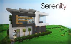 A minecraft house