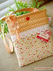 { coisa de menina } (Gizoca) Tags: girl bag handmade sewing crafts sew fabric bolsa menina handbag taschen tecido bolsinha gizoca