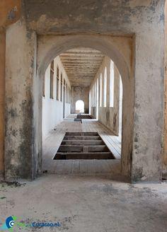 Quarantaine huis - Oog op Curacao