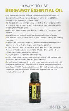 10 Ways to Use Bergamot Essential Oil
