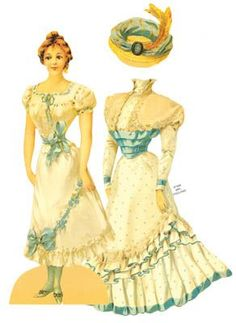 cone bottom paper dolls - Google Search