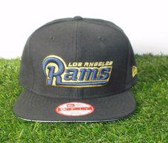 Los Angeles LA RAMS Snapback 9Fifty New Era Hat Original Fit NFL Licensed  Black  NewEra 1c209b7b7324