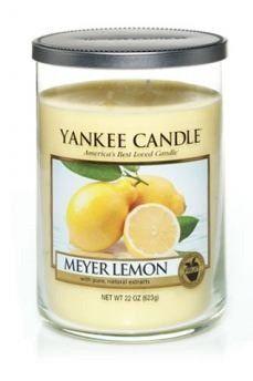 Meyer Lemon Large Tumbler By Yankee Candle Lemon Kitchen Decoryankee