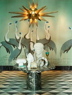 Viceroy Miami design by Kelly Wearstler Best Interior, Modern Interior Design, Interior And Exterior, Art Furniture, Luxury Furniture, Furniture Makers, Contemporary Furniture, Decoration Inspiration, Design Inspiration
