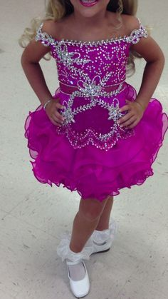 Mega Glitz Pageant Dress 4 6 | eBay Glitz Pageant Dresses, Pagent Dresses, Pageant Wear, Pageant Girls, Girls Dresses, Dance Outfits, Girl Outfits, Holiday Party Dresses, Ball Gowns