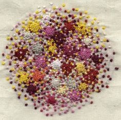 French Knots as dots