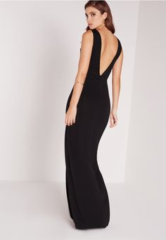 "good things come in small packages. shop our missguided petite range, for babes 5""3 and under. Walk into spring in style in this maxi dress. Dare to bare all in the right places with its classic plunge neck, figure-flattering fit and a p..."