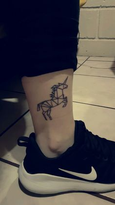 Unicorn Tattoo.