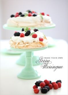A family favorite at our house, the meringue recipe leaves you wanting more with it's crisp outside and chewy inside. It's just like my favorite dessert ever and easier than you think! #dessert #holiday #recipe http://www.weddingchicks.com/2011/08/08/do-it-yourself-meringue/