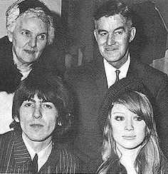 From Facebook Page Patricia Anne Boyd The Muse, Pattie Boyd Harrison, George Harrison & George's parents Louise & Harold