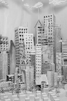 mais non, je ne vous oublie pas.  voilà ma dernière découverte webistique, une chouette ville tout en papier :         la suite ici :  http:...