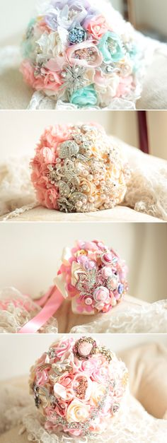 Brooch Bouquet Designs
