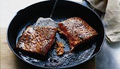 Easy Salmon Recipe -Mustard- and Brown Sugar-Rubbed Salmon  Round out the quick recipe here with simple or no-cook additions like: Instant barley with Parmesan Roasted carrots Sliced mangoes topped with orange juice and coconut