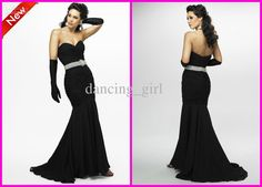Elegant Sweetheart Mermaid Sexy Chiffon Pageant And Prom Pageant Dresses | Buy Wholesale On Line Direct from China