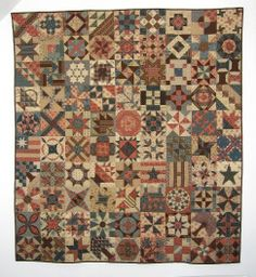 Civil War Sampler ~ a finish by Passion Patchwork
