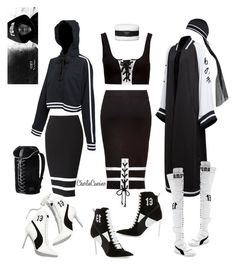 """""""#np Goodnight Gotham - Rihanna"""" by caliimcqueen ❤ liked on Polyvore featuring Puma"""