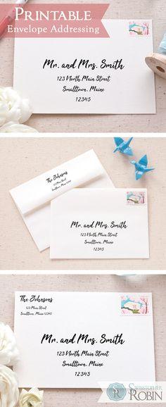 207 Best Envelope Addressing Images Envelope Template Printable