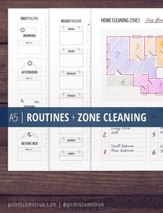 Daily Routine Planner Printable / Morning Routine ...