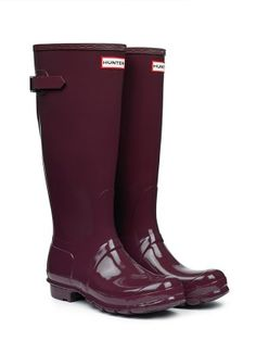 Original Adjustable Gloss Wellington Boots | Hunter Boot Ltd