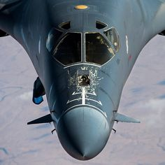 """The mission never stops! A U.S. Air Force B1-B Lancer flies over Iraq in support of Operation Inherent Resolve, Dec. 24, 2015. OIR is the coalition…"""