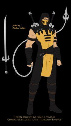 Escorpion Mortal Kombat, Mortal Combat, Superhero Design, Fighting Games, Digimon, Rogues, Character Concept, Boruto, Marvel