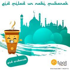 Eid Milad-un-Nabi Mubarak!   #eid #mubarak #miladunnabi #festival #festive #india #delhi #tpot #tea #chai