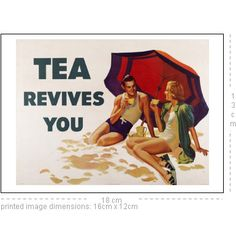 Tea Revives You. England, c.1939, © Victoria and Albert Museum/V&A Prints     18 x 13 cm Print, Satin finish.