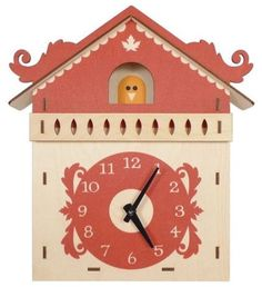 I'd use the Twitter bird. Contemporary clocks by My Sweet Muffin