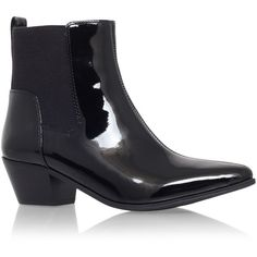 Travers Nine West Black ($55) ❤ liked on Polyvore featuring shoes, boots, ankle booties, black, short boots, black bootie, black block heel booties, nine west boots and mid heel booties