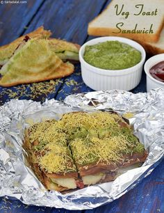 Snack Recipes for Kids, 510 Indian Easy Snack Recipes for Kids Bread Sandwich Recipe Indian, Veg Sandwich, Toast Sandwich, Sandwich Recipes, Snack Recipes, Veg Recipes, Easy Recipes, Breakfast Recipes, Recipies