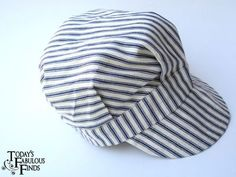 Today's Fabulous Finds: How to Make an Eddy/Engineer Cap