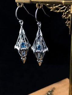 Magical Jewelry, Unusual Jewelry, Jewelry Accessories, Fashion Accessories, Jewelry Design, Fantasy Jewelry, Earrings Handmade, Bling Bling, Jewelery