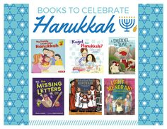 Hanukkah Books Book Suggestions, What To Read, Hanukkah, Letters, Books, Libros, Book, Lettering, Book Illustrations