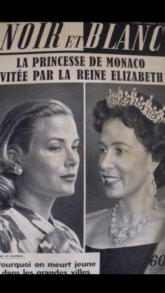 Grace Kelly covers Noir et blanc 1959