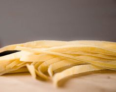 Making Fresh Egg Fettuccine from Scratch (No Pasta Maker Required!)