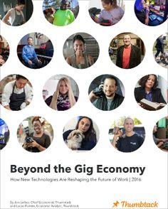 Thumbtack Advocates for Skilled Professionals in the Gig Economy