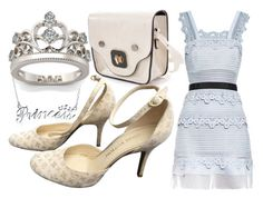 """""""Modern Princess"""" by annabellechristinewren ❤ liked on Polyvore featuring Bling Jewelry, self-portrait, Louis Vuitton, modern, disney, princess and girly"""