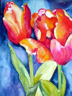 Spring - By Watercolour Artist Sherren MacLeod