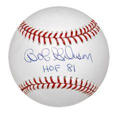 "Bob Gibson Signed Mlb Baseball W/ ""2x Cy Young"" Insc. Sports Mem, Cards & Fan Shop Autographs-original"