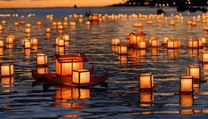 The Obon festival is one of the most important events on the Japanese calendar. Learn about the Obon origins, traditions, celebrations, and the dates. Water Lantern Festival, O Ritual, Floating Lanterns, Japanese Festival, Celebration Around The World, Wedding Scene, Vintage Hawaiian, Surfs Up, Japanese Culture